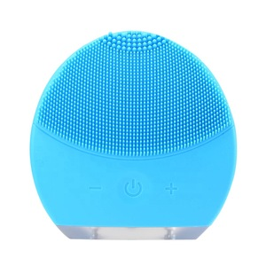 16 Speed Silicone Ultrasonic Vibrating Face Massager Silicon Deep Clean Facial Cleanser For Skin Care