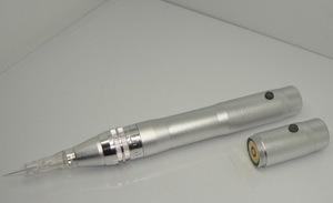 2 in 1 Electric Microneedle derma stamp pen &tattoo machine pen