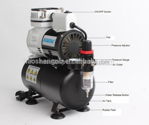 AF186 Best Selling Products Air Compressor Pump airbrush machine for nails airbrush paint for sale