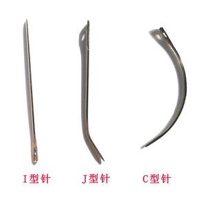 C/J/T Styles Hair weaving needles/hair extension tool, wholesale weaving needles/thread