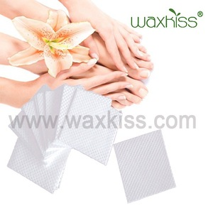 Disposable nonwoven lint free nail wipes/nails supplies