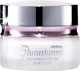 Glutathione Intensive Whitening Facial Cream 30 g. Mistine Thailand