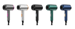 Large Air Volume Drying Anion Hair Care Professional Hair Dryer, High Speed AC Motor Travel Size Hair Dryer+Cool Shot Function