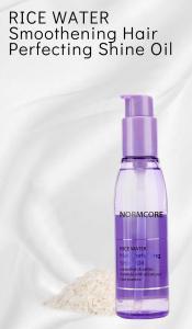 Luxury Wholesale Private Label Custom Natural Organic Coconut Argan Oil Herbal Care Repair Treatment Rice Extract Hair Oil Serum