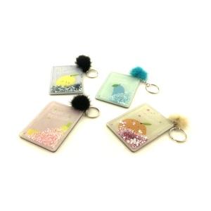 NEW ARRIVALS Pocket Mirror Gift Single Side Pocket Mirror Keychain Pocket Size Mirror