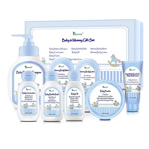 OEM/ODM Baby Skin Care Product Baby Bath Gift Set