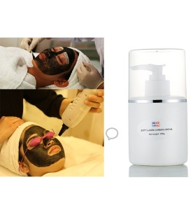 Own product soft laser carbon cream face bright cream