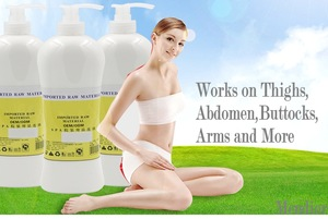 Private label Body Slimming Lotion Whitening hot slimming gel fat burn gel slimming body