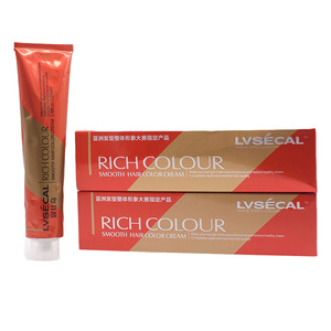 Professional Hot Selling Colorful Hair Color Cream in Hair Dye  No PPD No ammonia Ecologic Anti-Allergy Hair Color dye