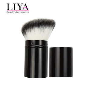 Retractable Kabuki Blush Foundation Powder Brush in Cosmetic tools