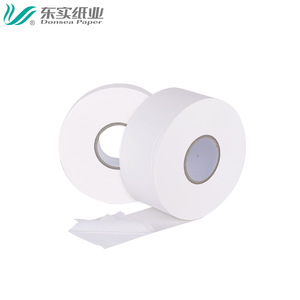 Wholesale virgin white public jumbo roll toilet tissue paper / bathroom tissue / marcas de Papel Higienico