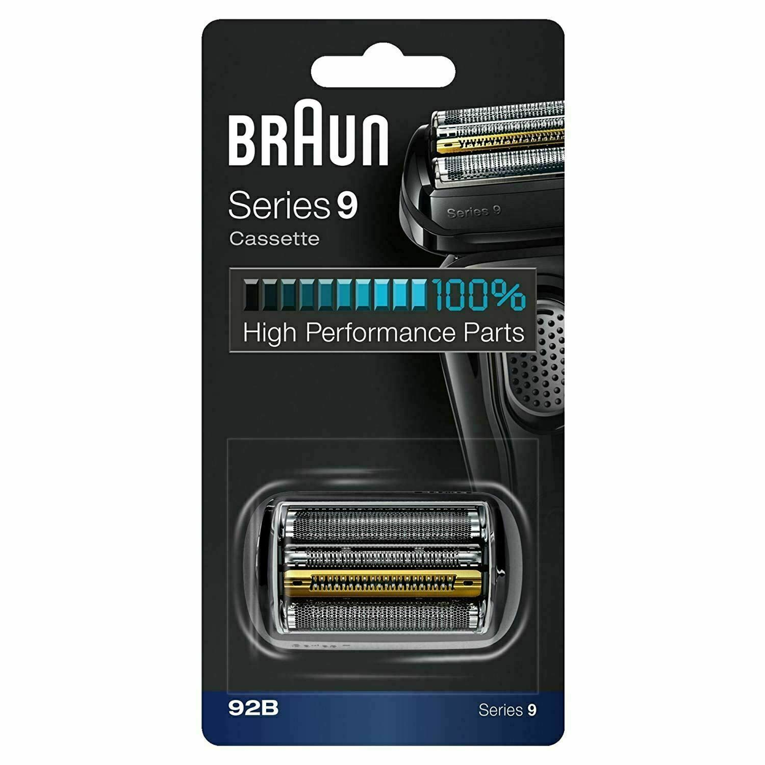 Braun 92B Series 9 Electric Shaver Replacement Foil Cassette