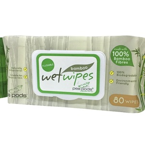 100% Soft Bamboo Fiber Spunlace Refreshing Baby Wipes biodegradable wet wipes