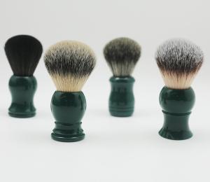 2020 Amazon Best sellers Peacock green Shaving brushes Used Badger hair beard shaving brush wholesale