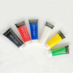 6x75ml Professional Studio Heavy Body Acrylics Artist Painting Supplies