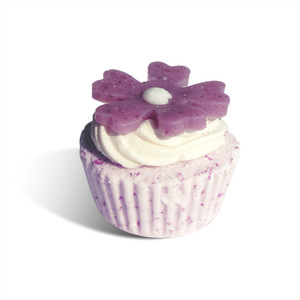 Beauty bath fizzer soap cupcake wholesale for christmas sale