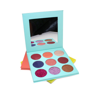 Best quality 9 Color colorful eyeshadow palette Oem Eyeshadow Palette