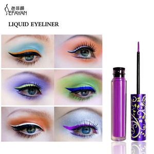 Best Sellers Custom Pigment  Liquid Eyeliner Pencil Long Lasting Black Color Eyeliner Stamp 2 in 1 Eyeliner For Eye