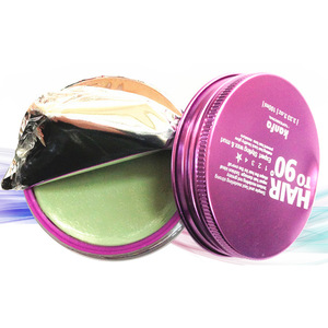 Hair styling products strong holding wax