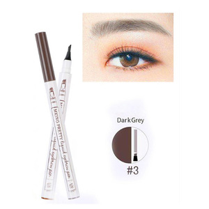 hot product 3 Colors Liquid Eyebrow tattoo Pencil 4 Head Fork Tips
