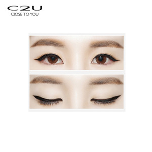 luxury design smooth waterproof liquid pencil private label eyeliner