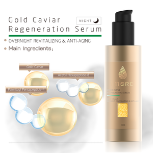 OEM Gold Caviar Lifting Face Serum 45ml Skin Care Products