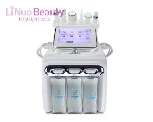 Portable high frequency facial machine 6 in 1oxygen facial machine multifunctional skin cleansing facial machine