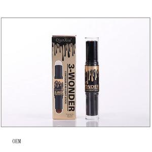 Private Label Double-end Concealer & Highlight Contour Trim Cosmetic Makeup Beauty Bar Pen Stick