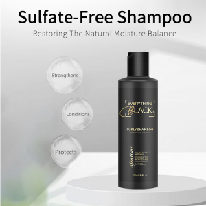 Private Label Organic Hair Shampoo Hair Care Products Coconut Oil Sulfate-Free Shampoo And Conditioner Set