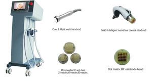 Radio frequency micro needle rf fractional&fractional rf microneedle beauty equipment