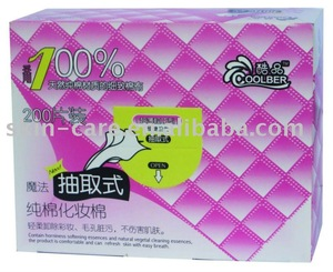 removable Cosmetic Cotton Pad (200pcs)
