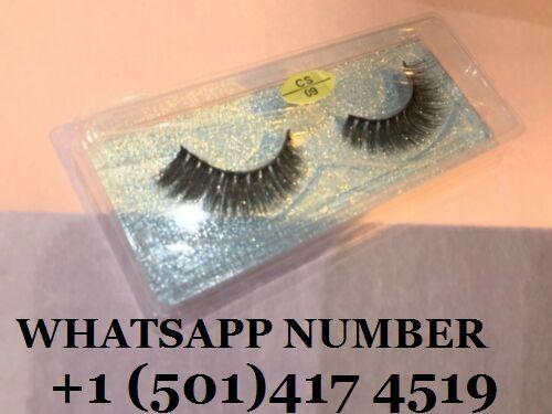 Pair 3D Mink False Eyelashes Wispy Long Thick Soft Fake Eye Lashes cs09 UK