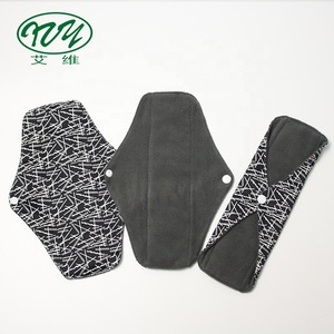 Absorption Snaps Adjustable Fabric Bamboo For Menstrual Pad