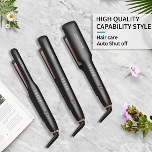 Best Brand Led Display Private Label Flat Iron Customize Plancha A Vapor De Cabello Permanent Hair Straightening
