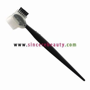 disposable eyebrow razor with brush BRZ002