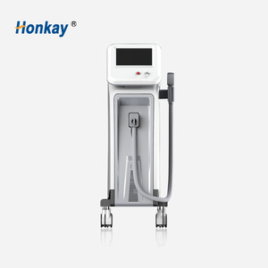 Hair Removal Beauty Equipment / Laser Diodo 808 nm Diode Professional Laser Hair Removal Machine