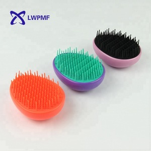 High quality pocket size magic hair logo comb for women
