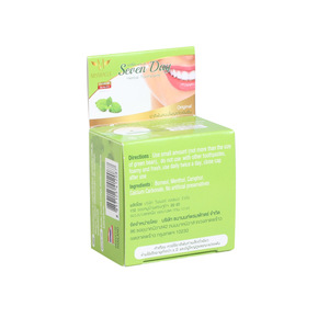 Hot Sell Whitening  remove stains Herbal Toothpaste From Thailand 25 g