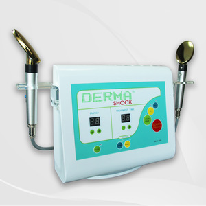 Hot Selling in Thailand Dermashock Golden Spoon Beauty Device for Skin Rejuvenation and Wrinkles removal