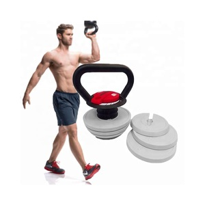 Kettlebell Weight Set Muscle Body Building Workout Fitness Grip