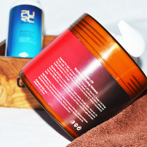 OEM hair gel cream mask color professional ingredient hair care product