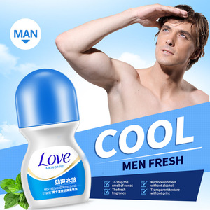 OEM ODM bioaqua moisturizing refreshing fragrance roll-on antiperspirant deodorant for men and women