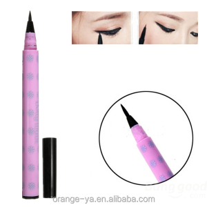 permanent makeup eyeliner with pink casing and black ink