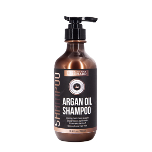 Private Label argan oil hair shampoo care set refreshing anti hair loss shampoo and conditioner