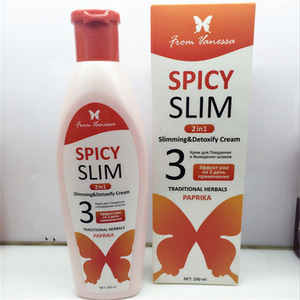 spicy slim cream pepper cream 200g pepper paste burns fat body slimming cream