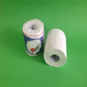Toilet roll sanitary tissue paper 10x9cm