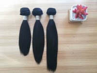 Unprocessed raw hair weft