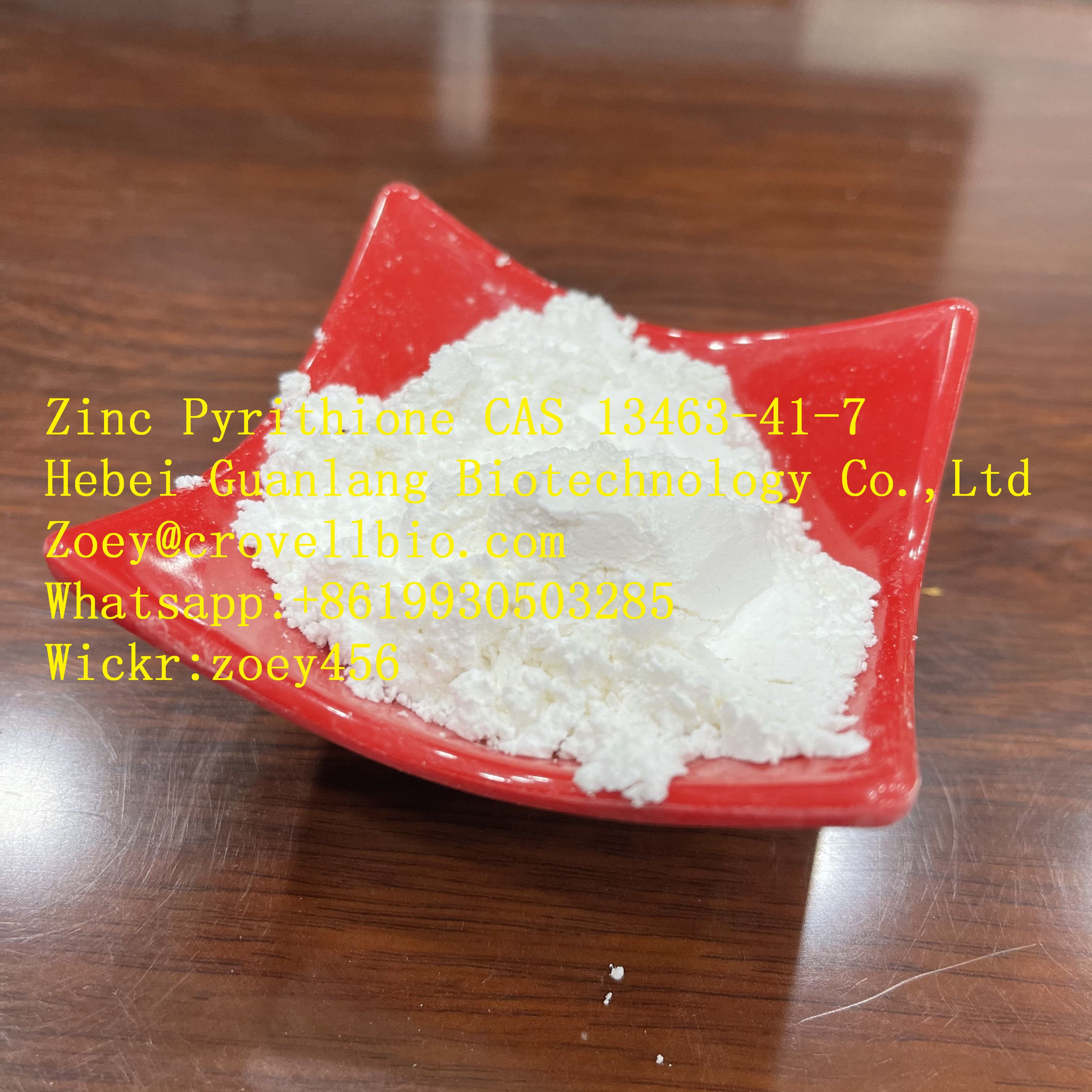 China ZPT supplier CAS 13463-41-7 with low price zoey@crovellbio.com
