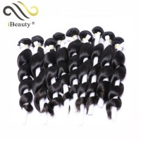 Wholesale raw peruvian human body wave bundles hair