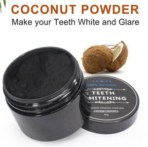 2020 dental care activated charcoal powder teeth whitening powder free sample
